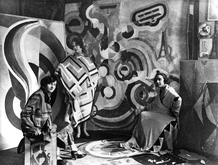 Sonia Delaunay and two friends - Tate