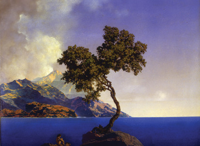 Inspiring Artist of the day - Maxfield Parrish