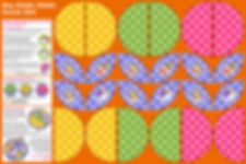 Puzzle ball Moira Carter Spoonflower