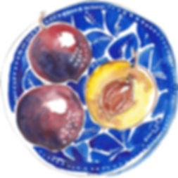 plums  clock.JPG