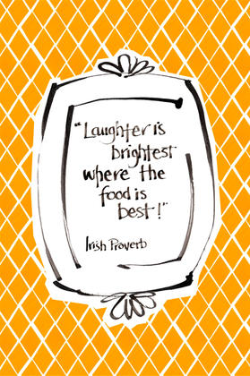 Laughter is brightest