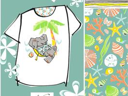 Elephant on Holiday!