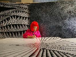 Inspiring Artist of the day - Yayoi Kusama