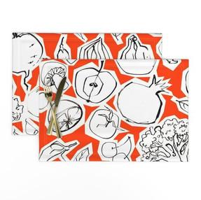 Blood Orange Fruits & Roots