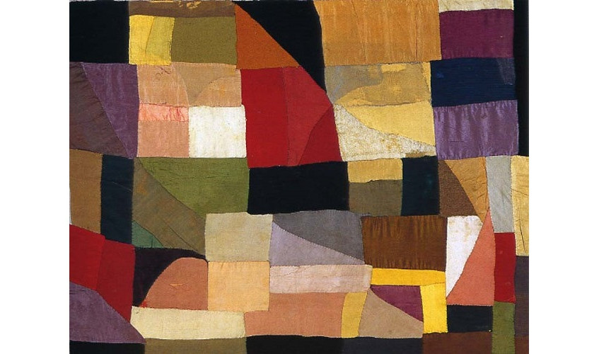 The quilt Sonia Delaunay made for her baby in 1911 - National Museum of Modern