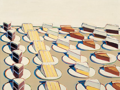 Inspiring Artist of the day - Wayne Thiebaud