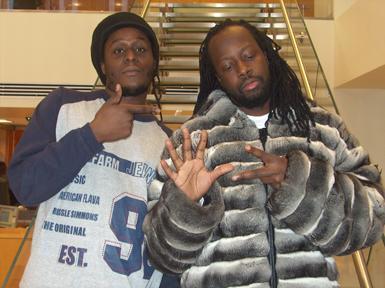 DJGringoNYC w Wyclef Jean