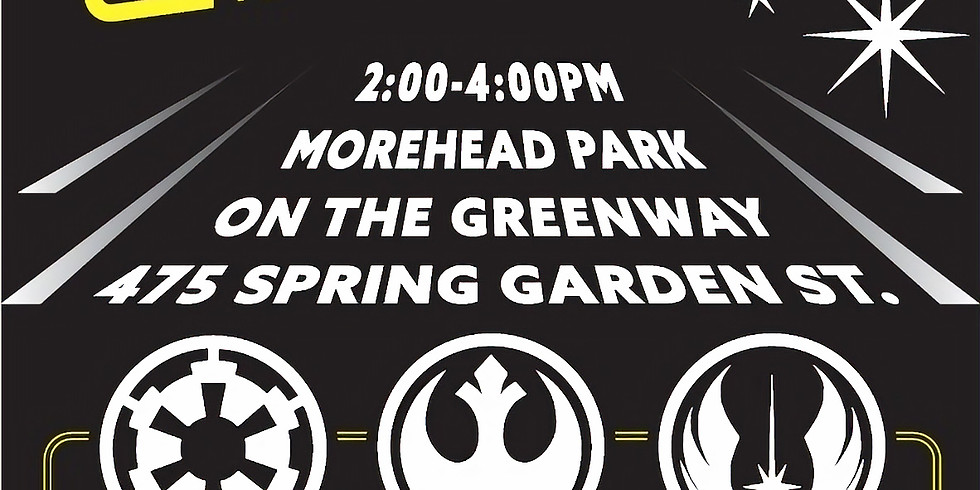 Wheels on the Greenway: May the 4th (Be with you)