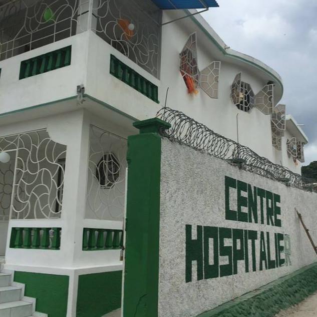Centre Hospitalier - Entré