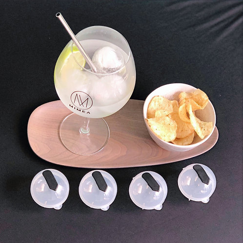 Ronde ijsvormen (set van 4st)