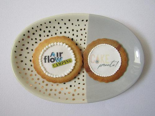 corporation promo, logo promotion, delicious adverisment