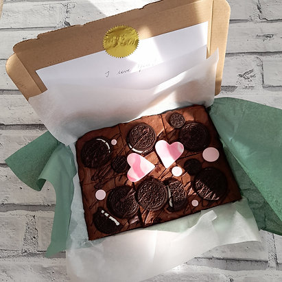 Personalized Brownie - Postal Treat (Vg)