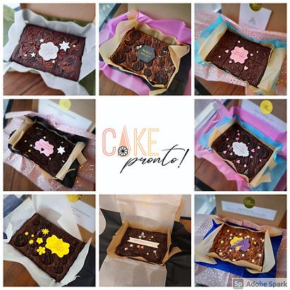 Personalized Fudge Brownie - Postal Treat (Vg)