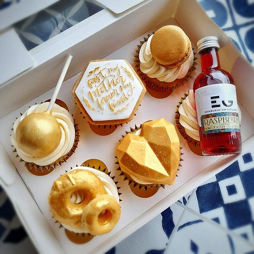 Premium Cupcakes - golden edition
