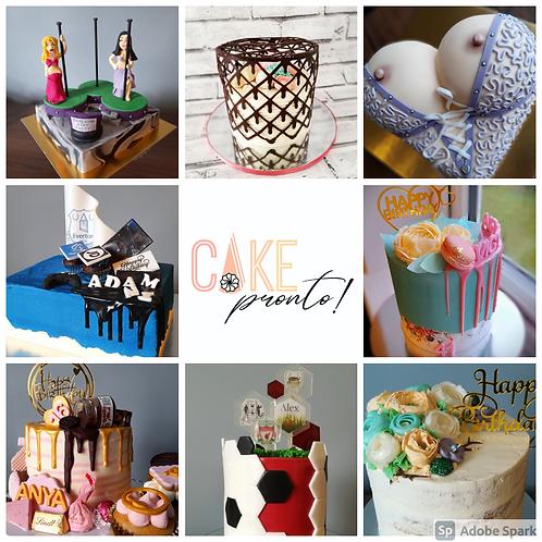 Personalised Celebration Cake