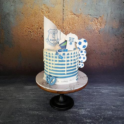 Football Club Drip Cake