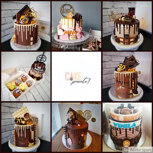 Chocolate Dream Drip Cake