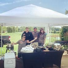 Chef catering crew