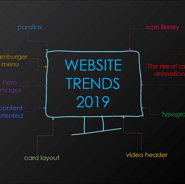 9 Website Trends in 2019.