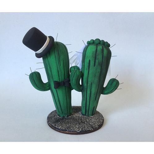 Pareja Cactus