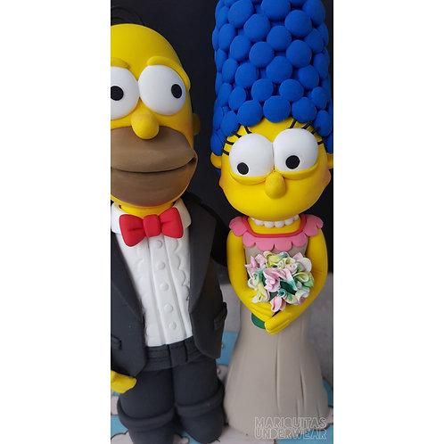 Pareja Homer & Marge - LOS SIMPSONS