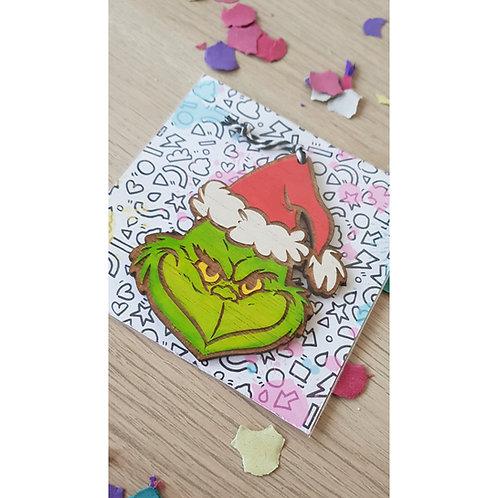 Adorno navideño - EL GRINCH