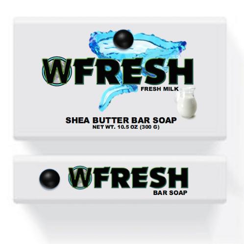 WiYnE Fresh Bar Soap - Fresh Milk (10.5 oz) [Wholesale]