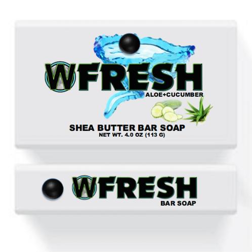 WiYnE Fresh Bar Soap - Aloe + Cucumber [Bulk]