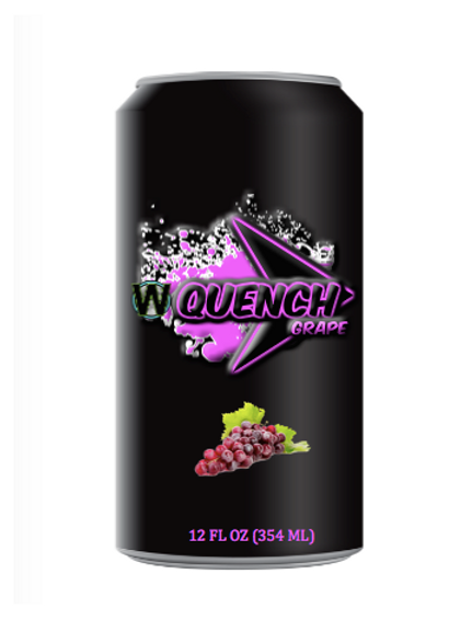 WiYnE Quench Grape Soda (24 Loose)