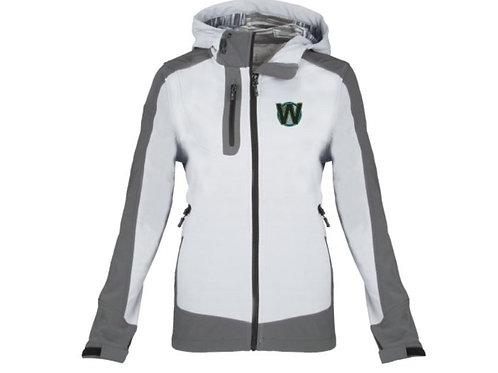 White WiYnE Cartelli Womens Jacket