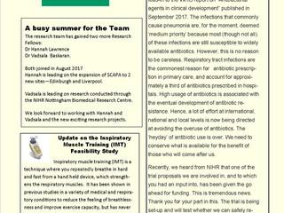 Nottingham Lung Infection PPI Group Newsletter September 2017