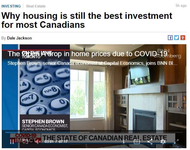 L'immobilier demeure votre meilleur investissement.