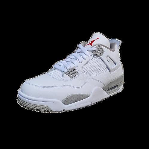Air Jordan 4 Retro (White Oreo)