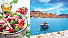Benefícios de Longevidade da dieta Mediterrâneo