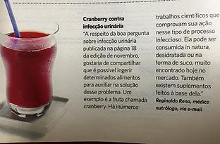 ARTIGO NUTROLOGO DR REGINALDORENA INFECÇÃO DE URINA REVISTA SAÚDE