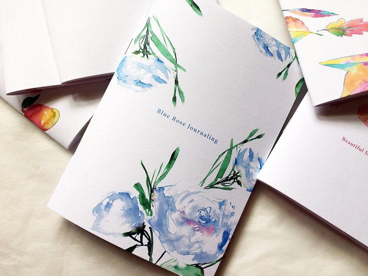 Blue Rose journaling