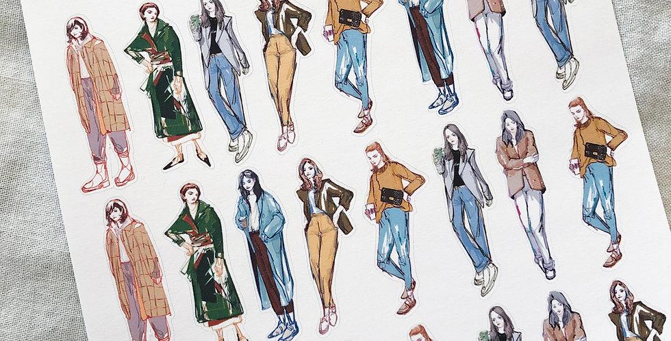Mini Autumn Street Fashion Girls 2020 - Whole Body Ver.