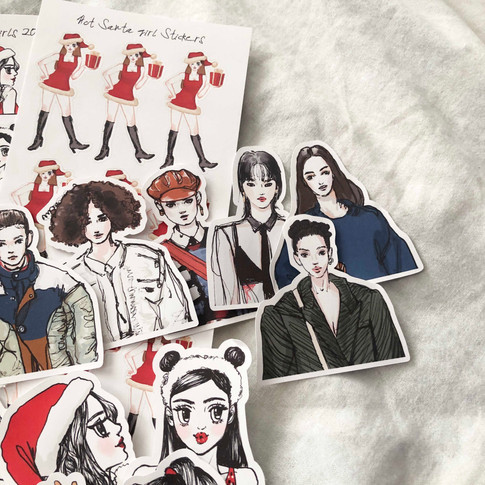 December Girls Pack
