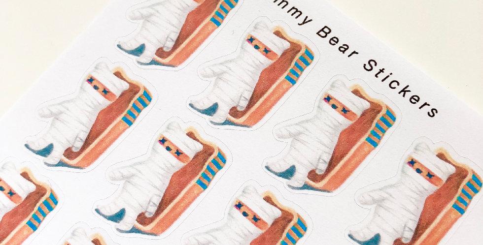 Mummy Bear Stickers