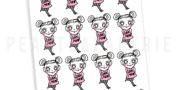 Love Me Petty Sticker