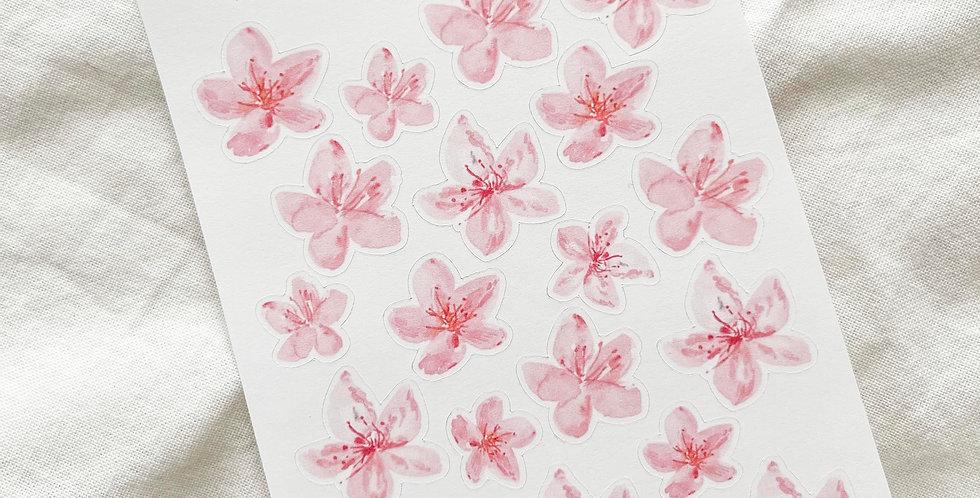 Mini Cherry Blossom Stickers