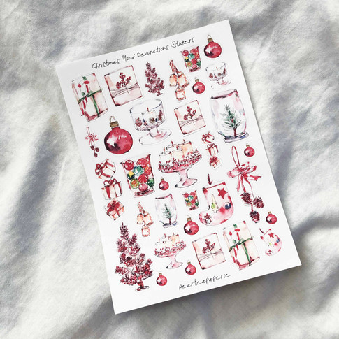 Christmas Mood Decorations Stickers