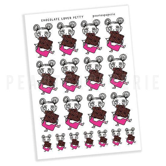 Chocolate Lover Petty Sticker