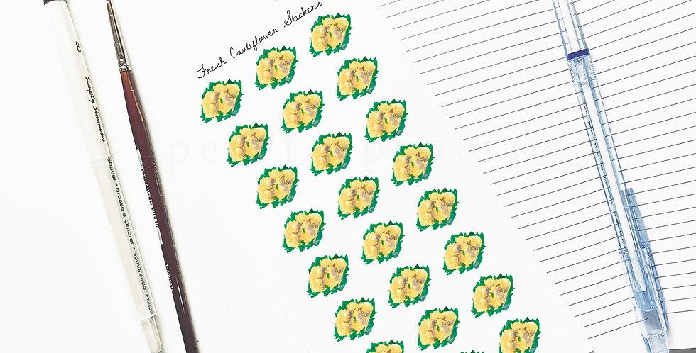 Fresh Cauliflower stickers