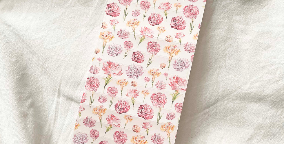 Carnations Pattern Stickers