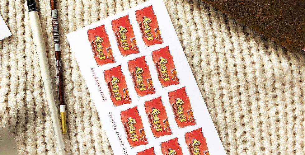 My Favorite Sweets Stickers Reese's