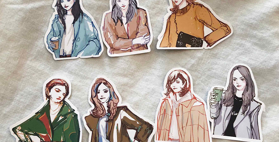 Autumn Street girls - Upper Body Ver.