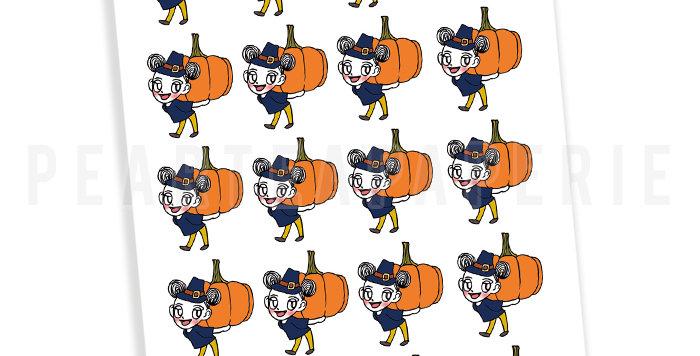 Thanksgiving Day Petty Sticker