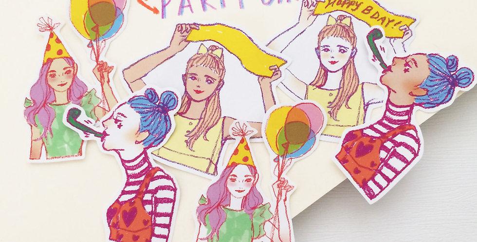 Party Girls Series Set
