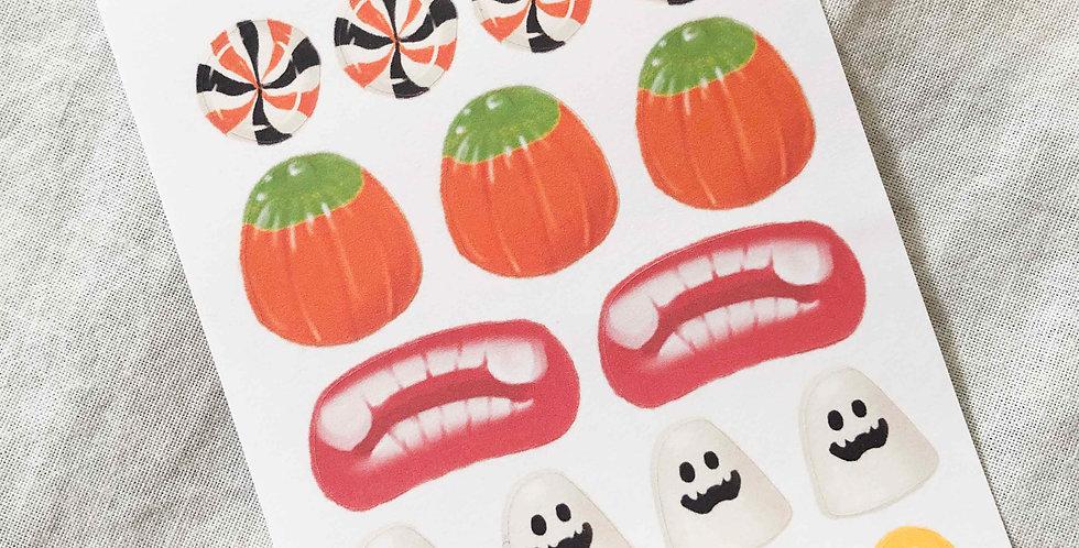 Halloween Treats Stickers